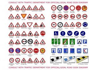 trafik levhaları ingilizce